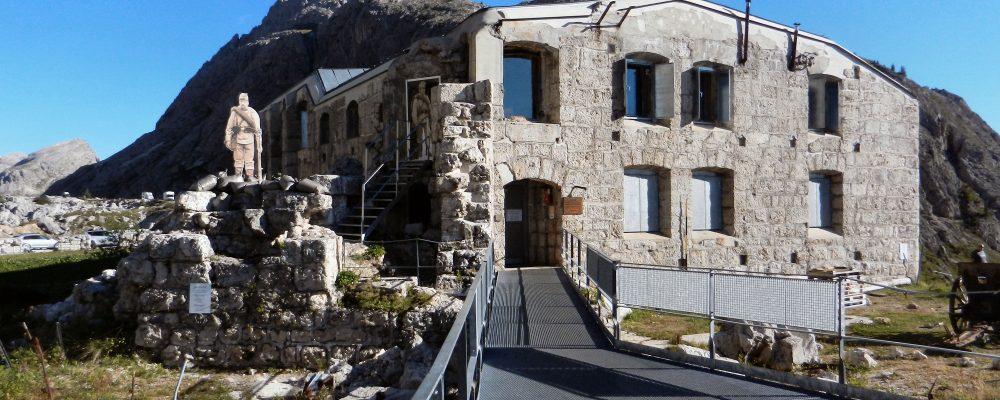 Visita al Museo Storico della Grande Guerra (Passo Valparola- San Cassiano)