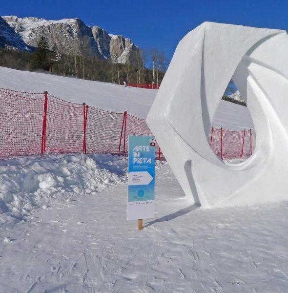 Arte in pista – Concorso di sculture di neve