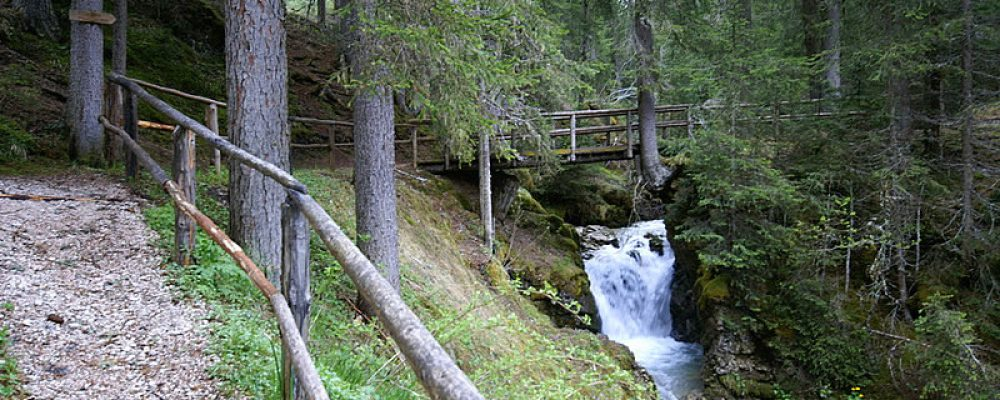 Passeggiata alle cascate del Pisciadù