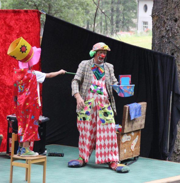 Un pomeriggio in compagnia del Clown Tino