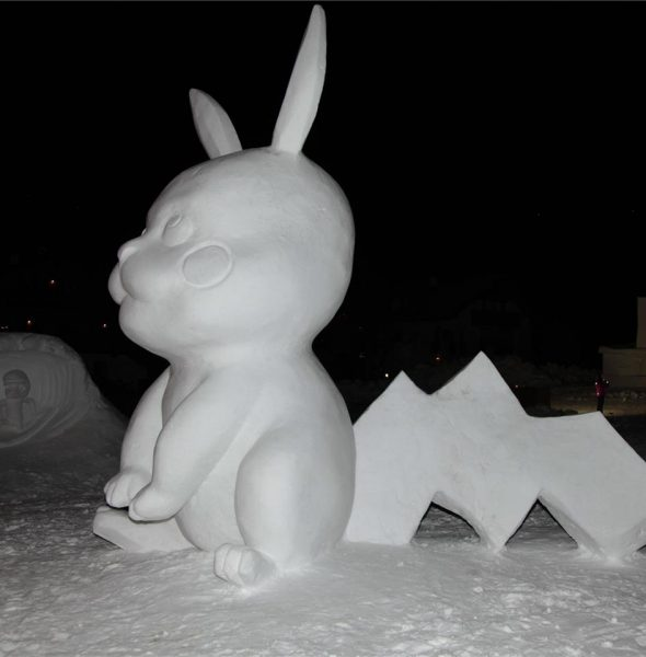 Simposio Internazionale di sculture di neve